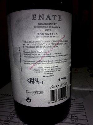 enate leyenda 300x400 - Cata de vinos de D.O. Somontano en escuela de cocina Azafrán