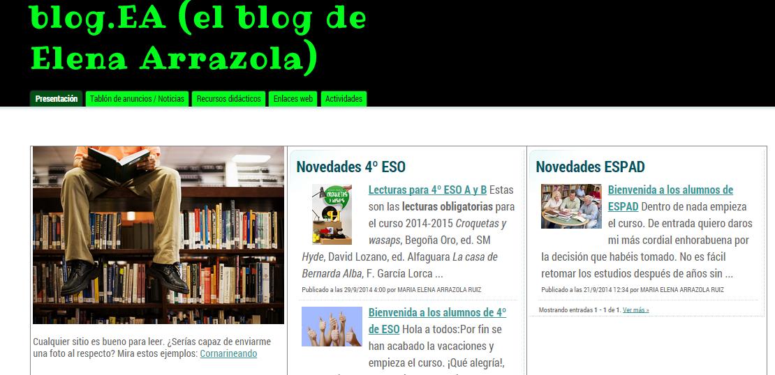blog ea1 - Blog de aula: blog.EA